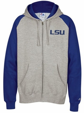 LSU Classic Full Zip Hooded Sweatshirt