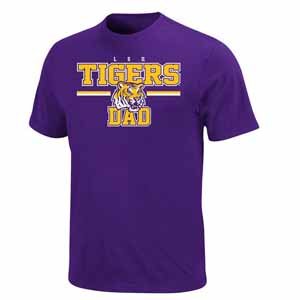 LSU College Dad T-Shirt - XX-Large