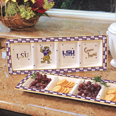 LSU Gameday Relish Tray