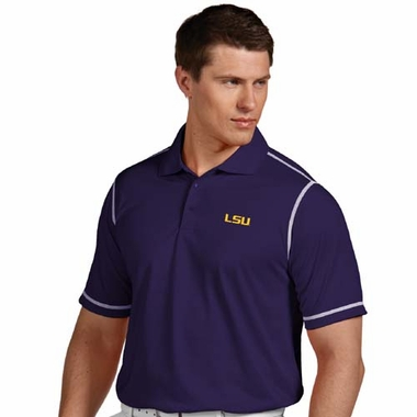 LSU Mens Icon Polo (Color: Purple)