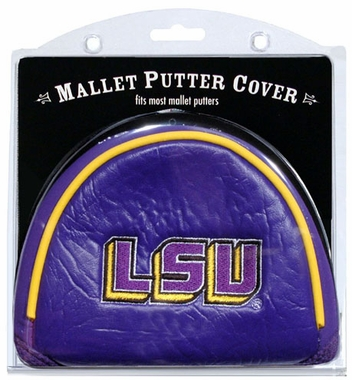 LSU Mallet Putter Cover