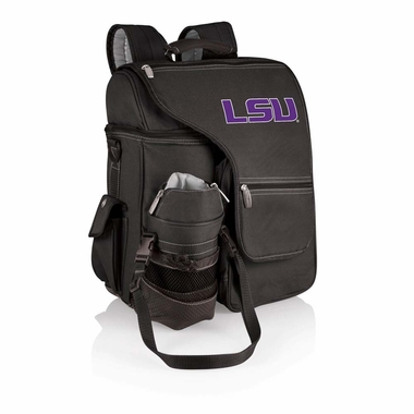 LSU Turismo Embroidered Backpack (Black)