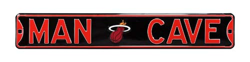 Man Cave Store Miami : Man cave miami heat street sign