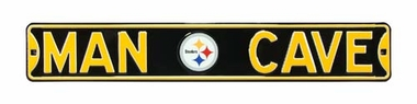 Man Cave Pittsburgh Steelers Street Sign
