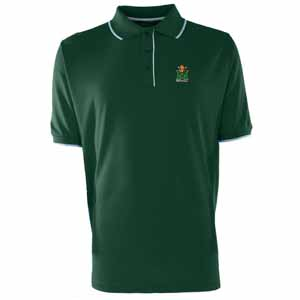 Marshall Mens Elite Polo Shirt (Color: Green) - Large