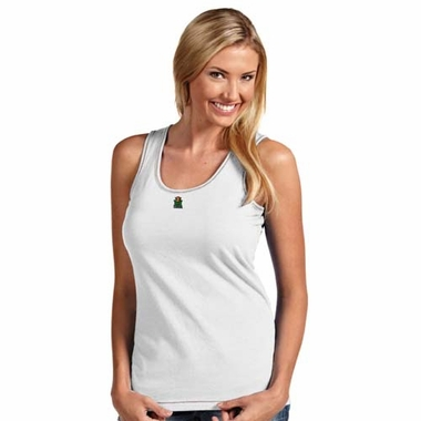 Marshall Womens Sport Tank Top (Color: White)