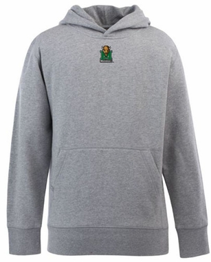 Marshall YOUTH Boys Signature Hooded Sweatshirt (Color: Silver)