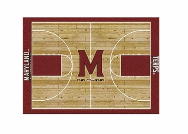 "Maryland 3'10"" x 5'4"" Premium Court Rug"