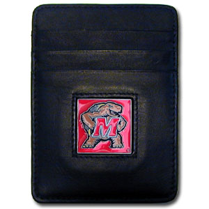 Maryland Leather Money Clip (F)