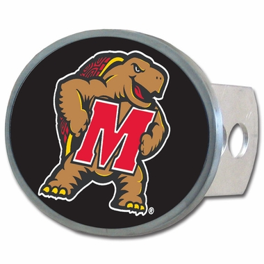 Maryland Oval Metal Hitch Cover