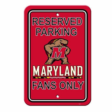 Maryland Plastic Parking Sign (P)