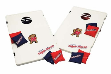 Maryland Tailgate Toss 2.0 Cornhole Beanbag Game