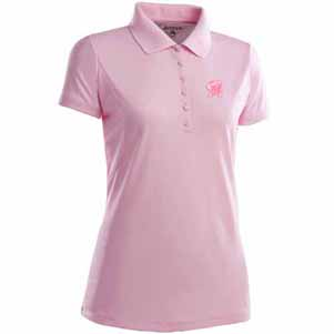 Maryland Womens Pique Xtra Lite Polo Shirt (Color: Pink) - Small