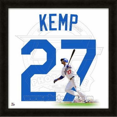 "Matt Kemp, Dodgers UNIFRAME 20"" x 20"""
