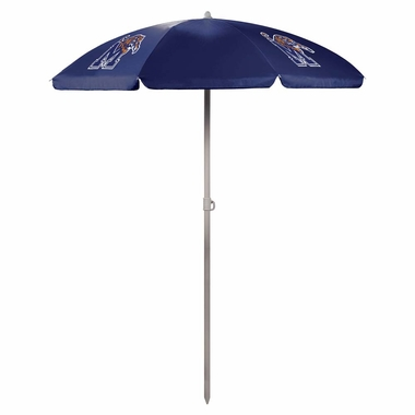 Memphis Beach Umbrella (Navy)