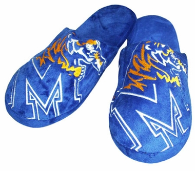 Memphis Big Logo Hard Sole Slippers