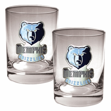 Memphis Grizzlies Double Rocks Set