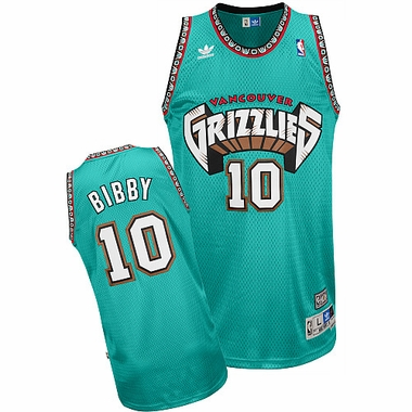 Memphis Grizzlies Mike Bibby Team Color Throwback Replica Premiere Jersey