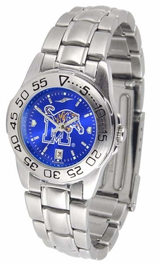Memphis Sport Anonized Women's Steel Band Watch
