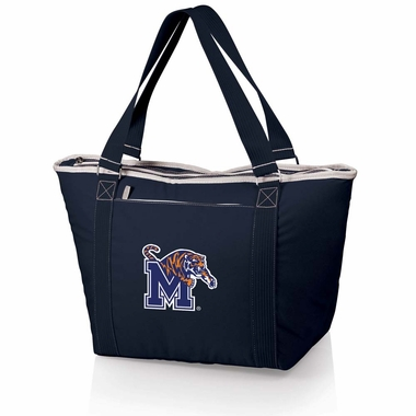 Memphis Topanga Embroidered Cooler Bag (Navy)