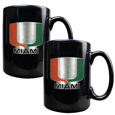 Miami 2 Piece Coffee Mug Set