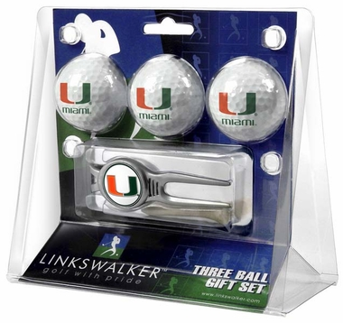 Miami 3 Ball Gift Pack With Kool Tool
