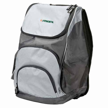 Miami Action Backpack (Color: Silver)