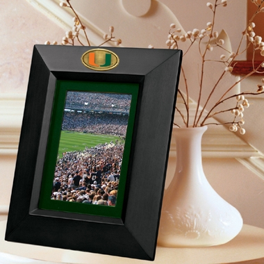 Miami BLACK Portrait Picture Frame