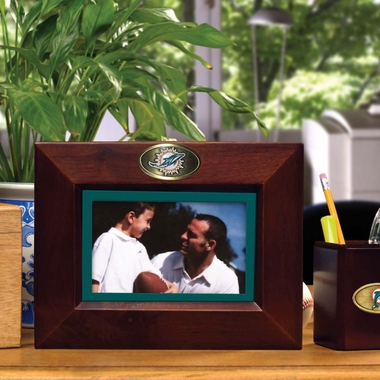 Miami Dolphins BROWN Landscape Picture Frame