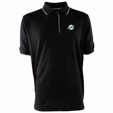 Miami Dolphins Mens Elite Polo Shirt (Color: Black)