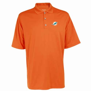 Miami Dolphins Mens Exceed Polo (Color: Orange)