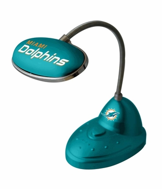 Miami Dolphins Mini LED Desk Lamp