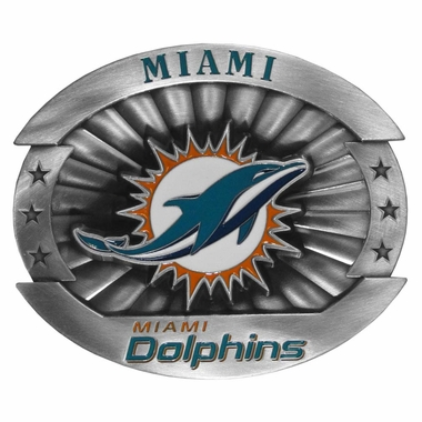 Miami Dolphins Oversized Belt Buckle