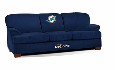 Miami Dolphins First Team Sofa