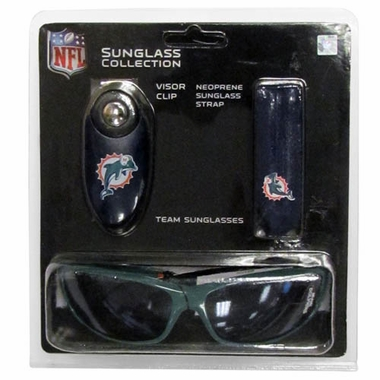 Miami Dolphins Sunglass Tri-Pack (F)