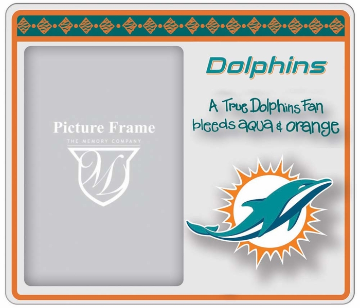 Miami Dolphins True Fan Picture Frame