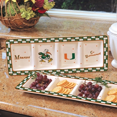 Miami Gameday Relish Tray