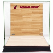 Miami Heat Display Cases