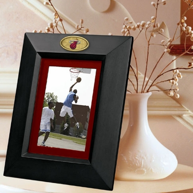 Miami Heat BLACK Portrait Picture Frame