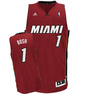 Miami Heat Chris Bosh Team Color Swingman Replica Jersey - XX-Large