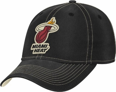 Miami Heat Slouch Washed Adjustable Hat