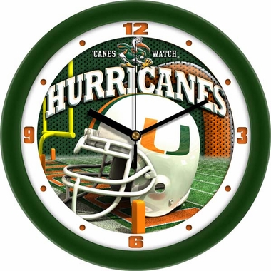 Miami Helmet Wall Clock