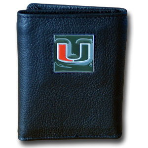Miami Leather Trifold Wallet (F)