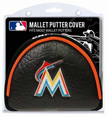 Miami Marlins Mallet Putter Cover