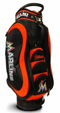 Miami Marlins Medalist Cart Bag