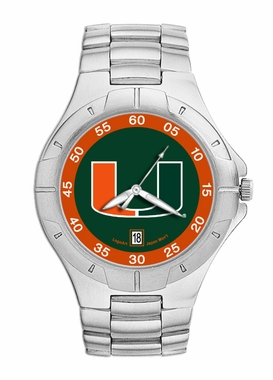 Miami Pro II Men's Stainless Steel Watch
