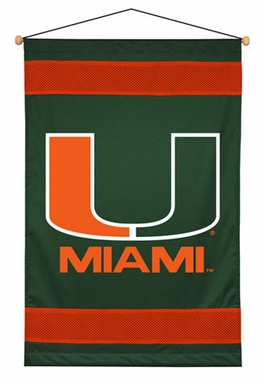 Miami SIDELINES Jersey Material Wallhanging
