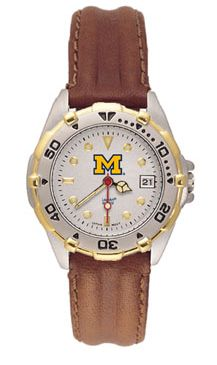 Michigan All Star Womens (Leather Band) Watch