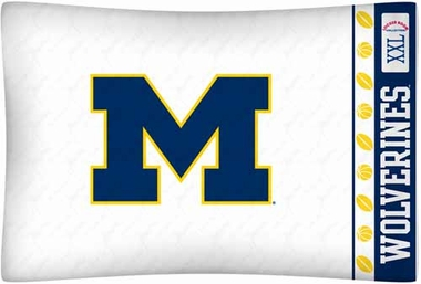 Michigan Individual Pillowcase