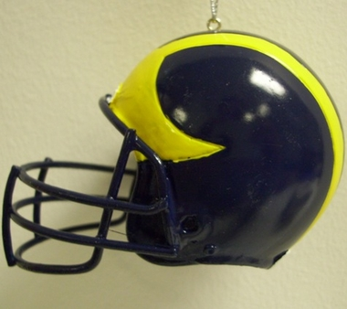 Michigan Mini Helmet Ornament